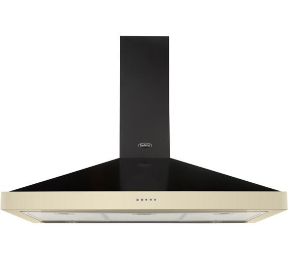 Buy Belling Classic 90 90cm Cooker Hood - Cream at Argos.co.uk, visit Argos.co.uk to shop online for Cooker hoods and splashbacks, Cooking, Large kitchen appliances, Home and garden