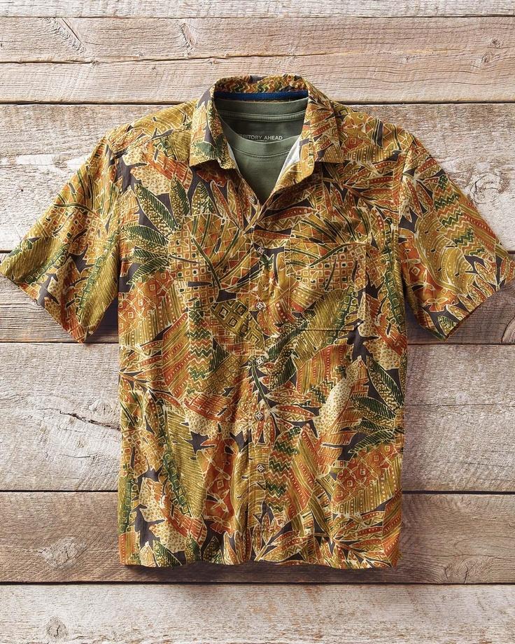 Jungle Batik Print Shirt
