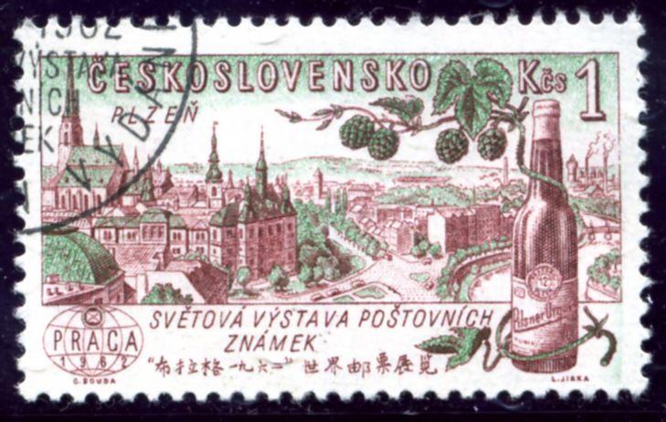 Czechoslovakia, 1961. Hops,  Beer Pilsner