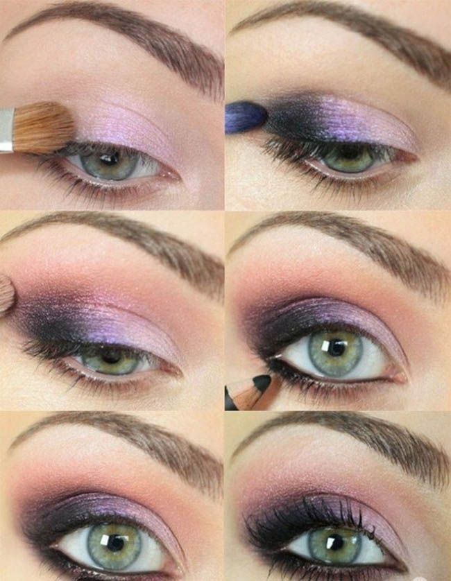 For Green Eyes: Perfect Makeup. Best smokey eyeshadow tutorials for a dramatic look. Beauty Tips and Ideas. | Makeup Tutorials http://www.fashioncentral.in/beauty-style/eyes/perfect-makeup-tutorials-green-eyes/