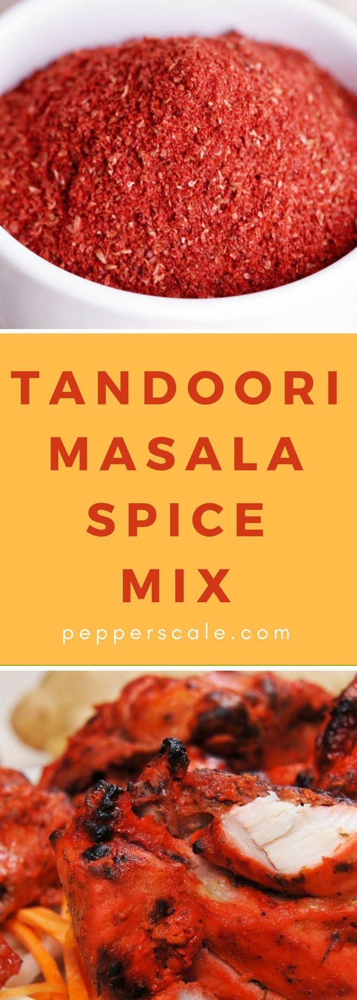 Tandoori Masala Spice Mix – #indian #Masala #Mix #…