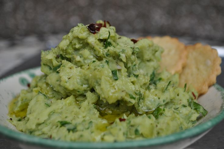 Bigilla is a great dip! This version uses fresh broad beans.