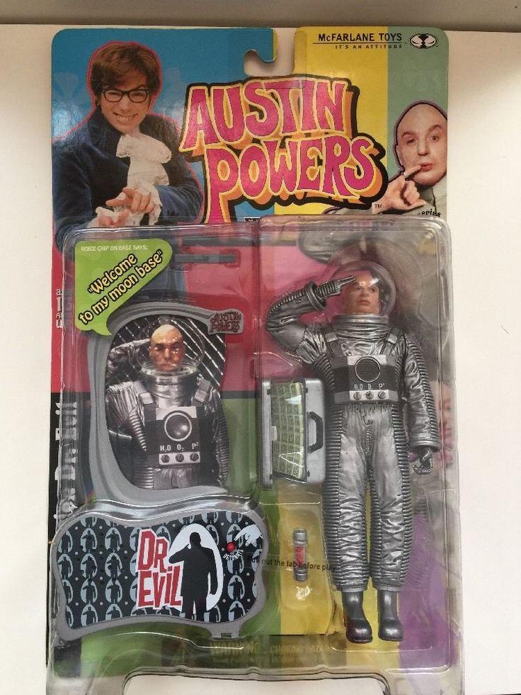 McFarlane Austin Powers Moon Mission Dr. Evil figure, New,unopened , 1995-2004 #McFarlaneToys