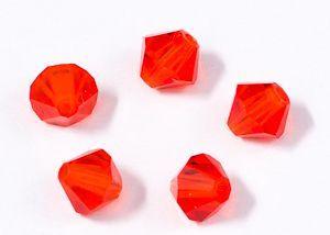 ID121 - 4mm Hyacinth Swarovski® Crystal Bicone Beads (Article 5301)(1)
