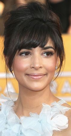 best bangs for short forehead - Google Search