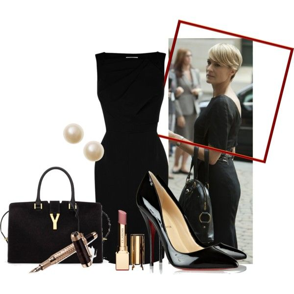 Claire Underwood, House of Cards, business, classy, fashion