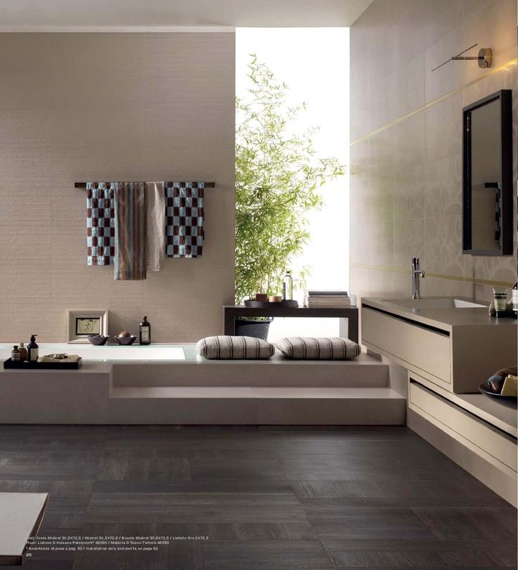 Italgraniti Listone-D Ny fantasisk treimitasjon i 6 forskjellige varianter til bruk på gulv eller vegg, inne eller ute. Str. 15x90 cm. Frostsikker.