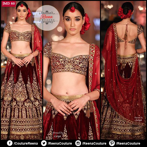 LOOK LIKE A CELEBRITY! Hand made ‪#‎Velvet‬ bridal lehenga wth zardosi work. We provide excellent customized stitching and you can get this outfit exclusively made for yourself! Get in touch with us on +91-9819416785. We also do ‪#‎international‬ shipping.