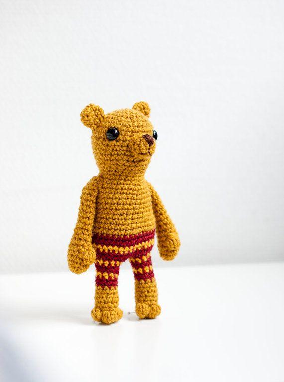 """Crocheted amigurumi soft toy soft sculpture  Pete by sofiasobeide"" #Amigurumi  #crochet"