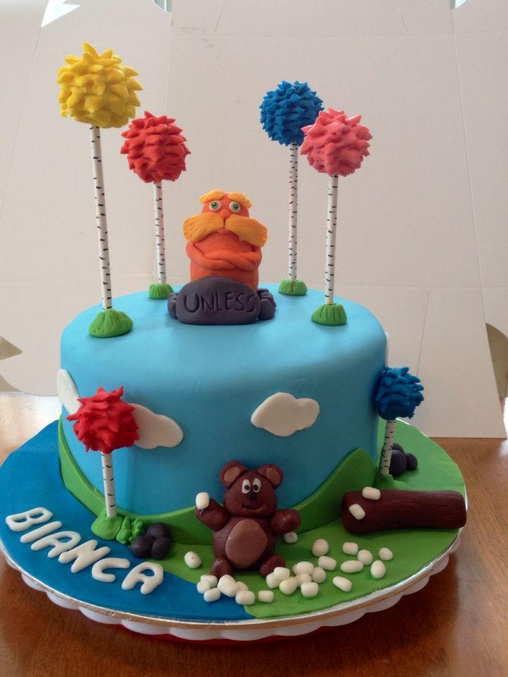 Gâteau le lorax