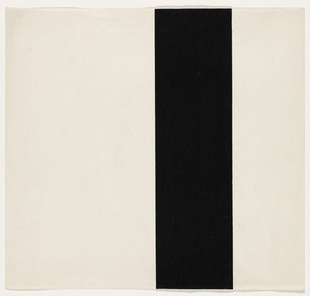 Ellsworth Kelly. Vertical Band from the series Line Form Color. 1951