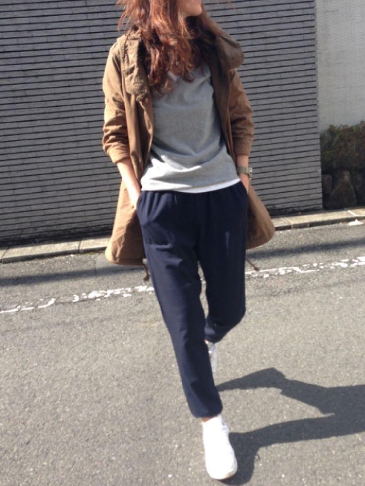 yukoさんのニット・セーター「TOMMY HILFIGER NEW IVY V-NK SWEATER」を使ったコーディネート