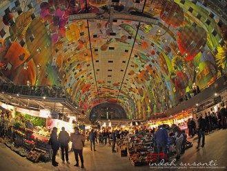 Markthal Rotterdam #market #Europeanmarket #Dutch #Holland
