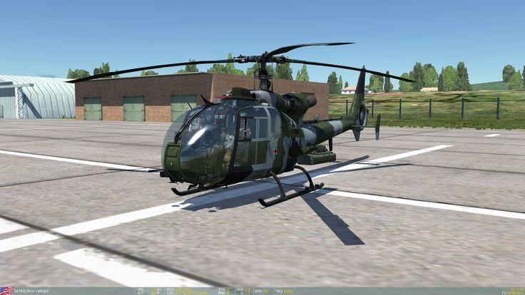 Gazelle upgrade: the DCS SA342L • HeliSimmer