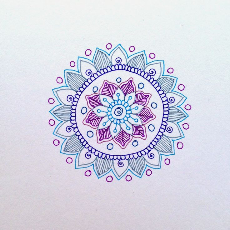 MagaMerlina: Mehndi Inspired Mandala Tutorial. Make them on paper or stone to keep busy. This tutorial is for on paper.