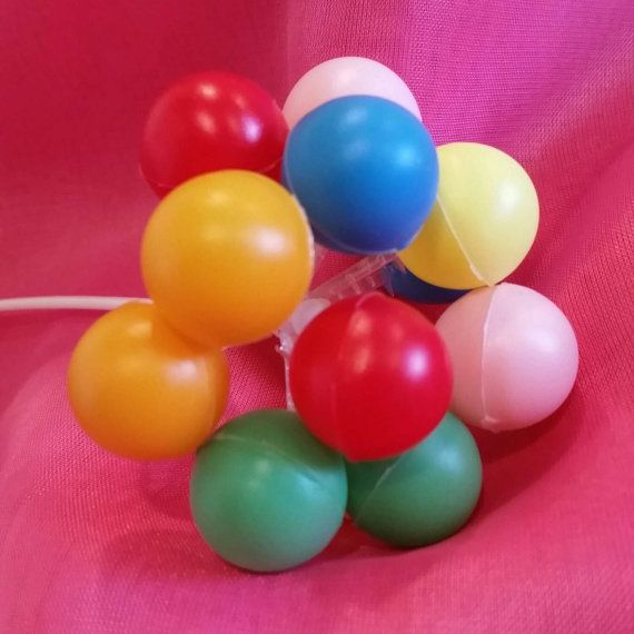 Plastic Balloon cluster.  Check out this item in my Etsy shop https://www.etsy.com/listing/231821469/plastic-balloon-cluster