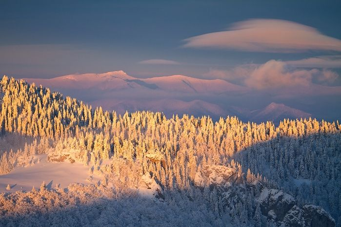 A view from ski resort Krizna near Hotel Kaskady via Lightharmony.com    #luxury #holiday #hotel #kaskady #Slovakia #winter #ski #sport