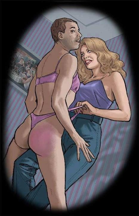 Феминизация мужчин в женскую одежду онлайн, голые жены фото крупно