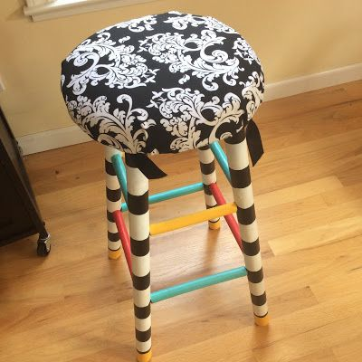 Awesome teacher stool TRADITION! Great idea!