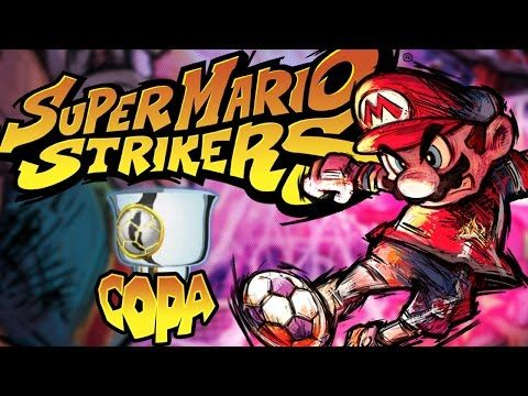 Super Mario Strikers 1080 60 FPS Copa Champiñon - YouTube