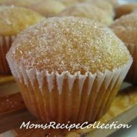 Muffins That Taste Like Doughnuts:  1 3/4 c (all purpose) flour;  1 1/2 tsp baking powder;  1/2 tsp salt;  1/2 tsp nutmeg;  1/4 tsp cinnamon;  1/3 c vegetable or canola oil;  3/4 c white granulated sugar;  1 egg;  3/4 c milk;  Mix dry and liquids in separate bowls. Then combine well, without over beating. Bake at 350 for 20-25 min. While muffins are hot, dip into (1/2 c) melted butter and roll into sugar (1/4 c) & cinnamon (1/4 tsp) mixture.