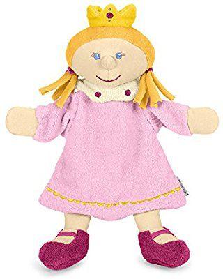 Sterntaler 3601653 - Handpuppe Prinzessin, rosa/gelb: Amazon.de: Spielzeug