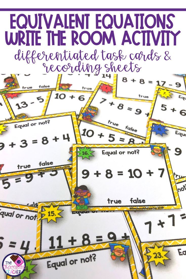 Pin On Math Equations addition and subtraction