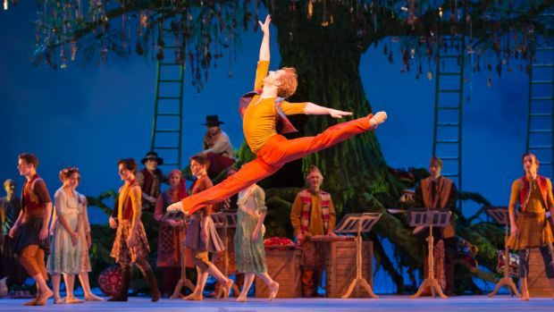 Leap of imagination: Steven McRae (Florizel) in the Royal Ballet's magical production.