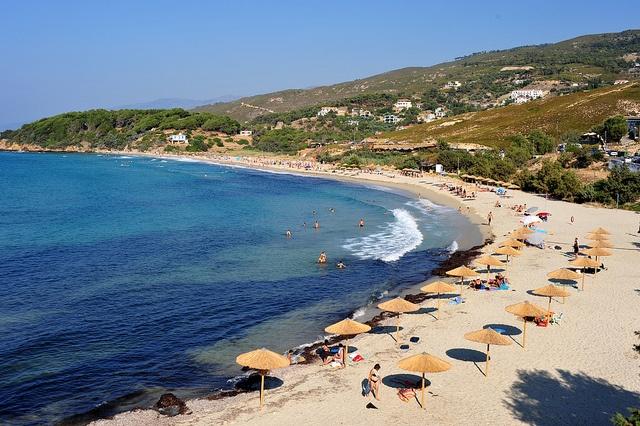 Messakti beach, Armenistis, IKARIA island