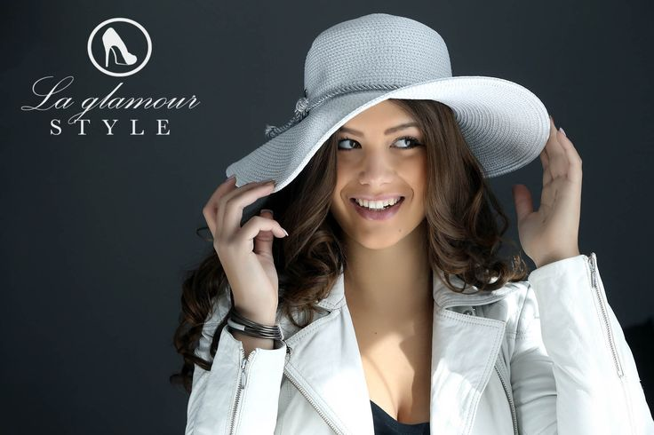 UPV Protection Sun Hat https://www.laglamourstyle.com/product/white-silver-headwear-3/
