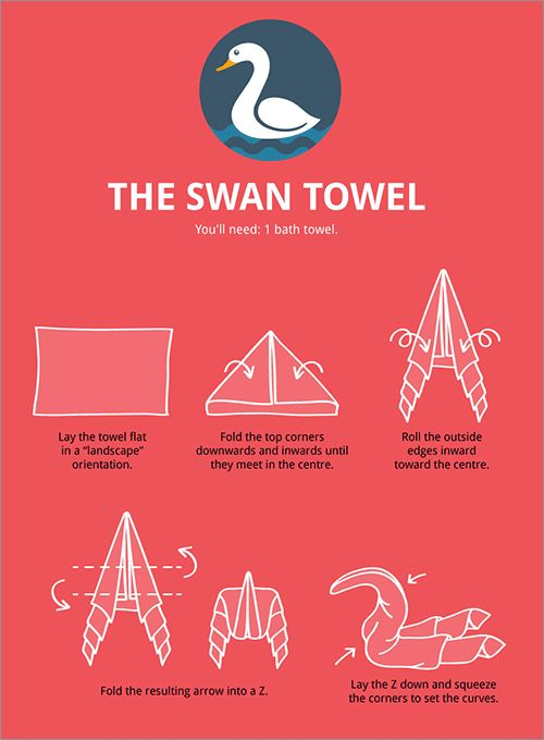 13 Best Images About Swan Towels On Pinterest The