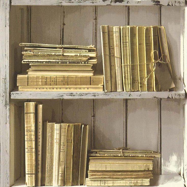 Papier peint BIBLIOTHEQUE CLASSIQUE - 51151607 de la collection papier peint Reality 2 - Lutèce papier peint