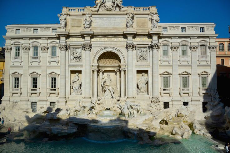 Fontana di Trevi, fonte de trevi, Roma, Italia, Italy