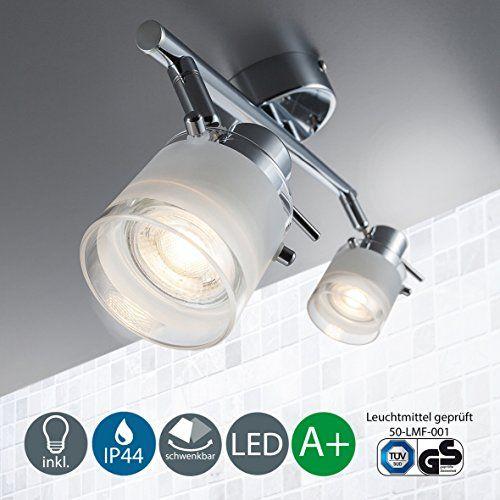 LED Baddeckenleuchte Schwenkbar Inkl. 2 x 5W Leuchtmittel... https://www.amazon.de/dp/B01HTIET0W/ref=cm_sw_r_pi_dp_x_KJKwzbS1BQT45