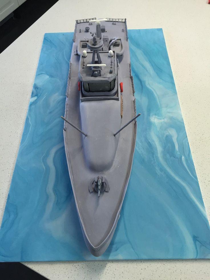 Australian Naval Patrol Boat Cake