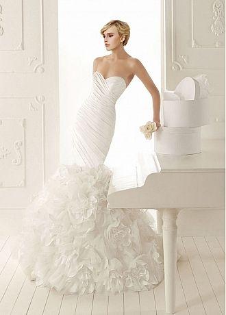Taffeta #Mermaid Sweetheart #WeddingGown