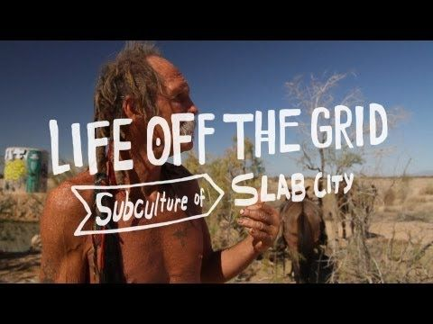 Life Off the Grid in Slab City.... Met one of these lads. Freest place ....