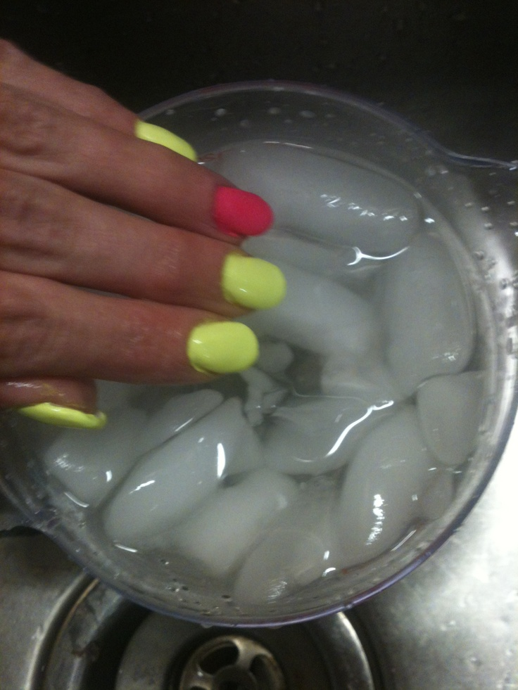 Some women think that using a blow dryer will help dry their nails, well news flash it doesn't it just makes them tacky. After you paint your nails make a bowl of ice water and dip your nails in it for a few minutes(not too long). There you have it dry nails fast!