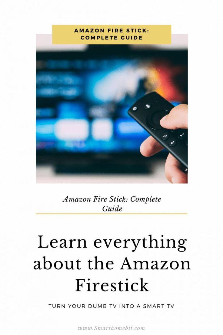 Amazon fire stick complete guide in 2020 amazon fire
