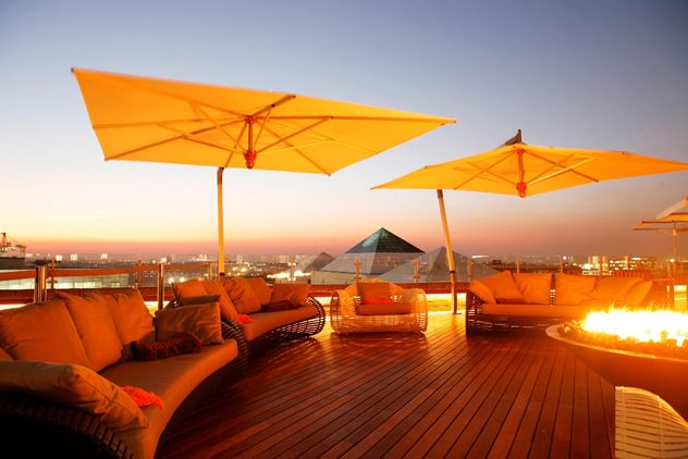 San Deck at the Sandton Sun. Photo courtesy of the restaurant.