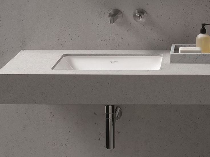 ME Lavabo da incasso sottopiano by DURAVIT design Philippe Starck