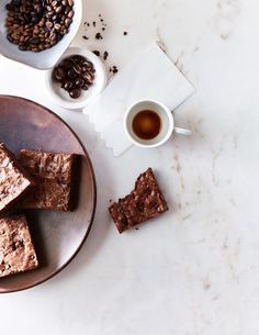 Recipe: Chocolate-Covered Espresso Bean Brownies - Kinfolk