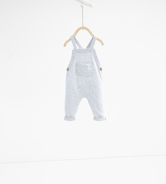 Image 1 of Double faced dungarees from Zara