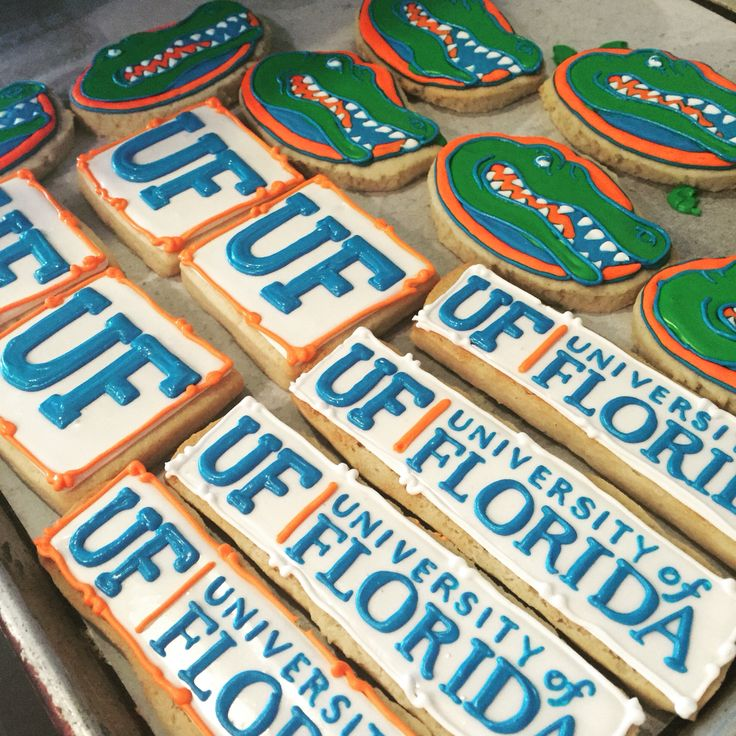 University of Florida Gators cookies