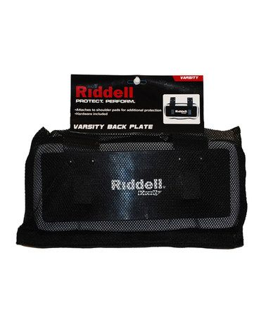 Take a look at this Black Varsity Back Plate by Riddell on #zulily today!