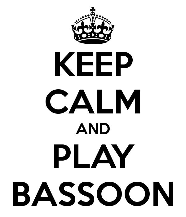 KEEP CALM AND PLAY BASSOON - KEEP CALM AND CARRY ON Image Generator -