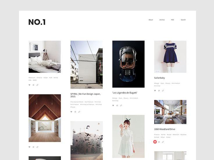 NO.1 — Tumblr Theme by Drew Rios