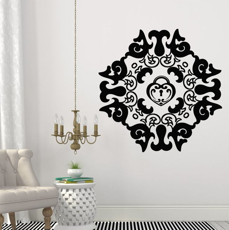 24 best Mandala wall decals images on Pinterest