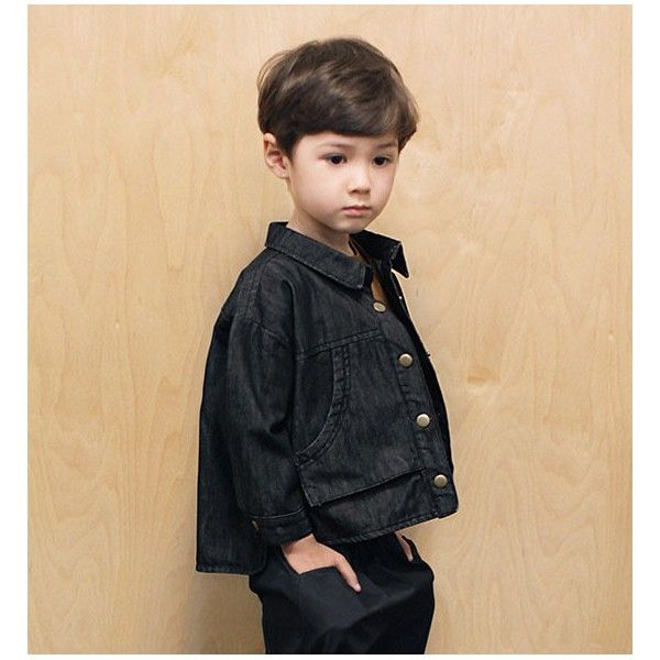 Round denim jacket www.liandco.es