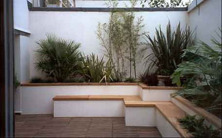 Jardineras de obra search and natural for Ideas para decorar el patio de mi casa
